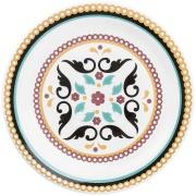 Aparelho de Jantar de Cerâmica 20 Peças Floreal Luiza Branco - Oxford