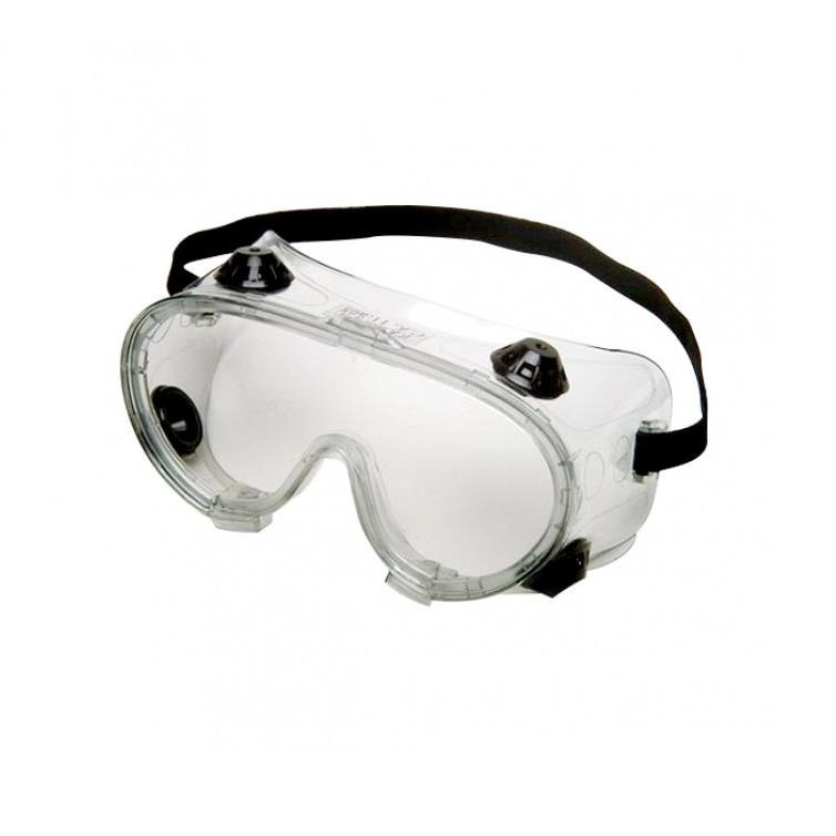 Oculos de Protecao Ampla Visao com Valvula - Kalipso