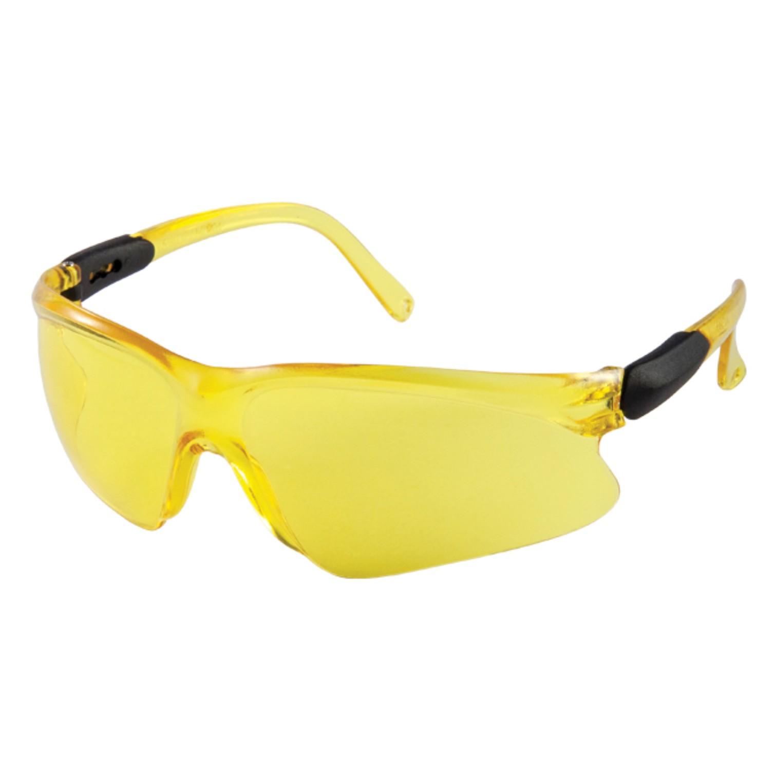 Oculos Protecao Polipropileno Lince Amarelo 611 - Kalipso
