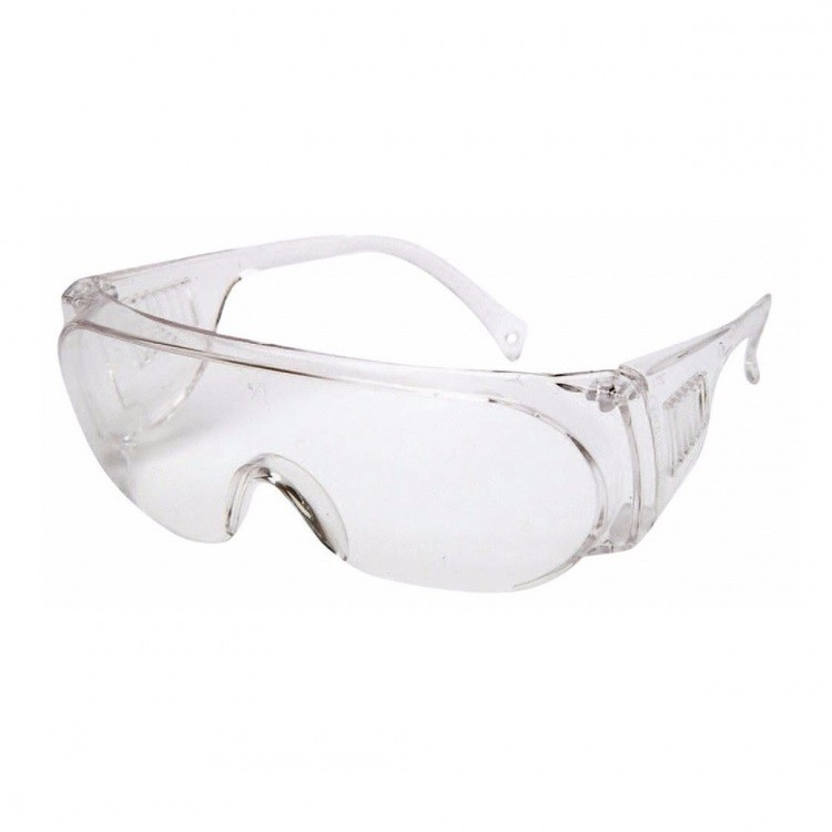 Oculos Protecao Polipropileno Panda Incolor 713 - Kalipso
