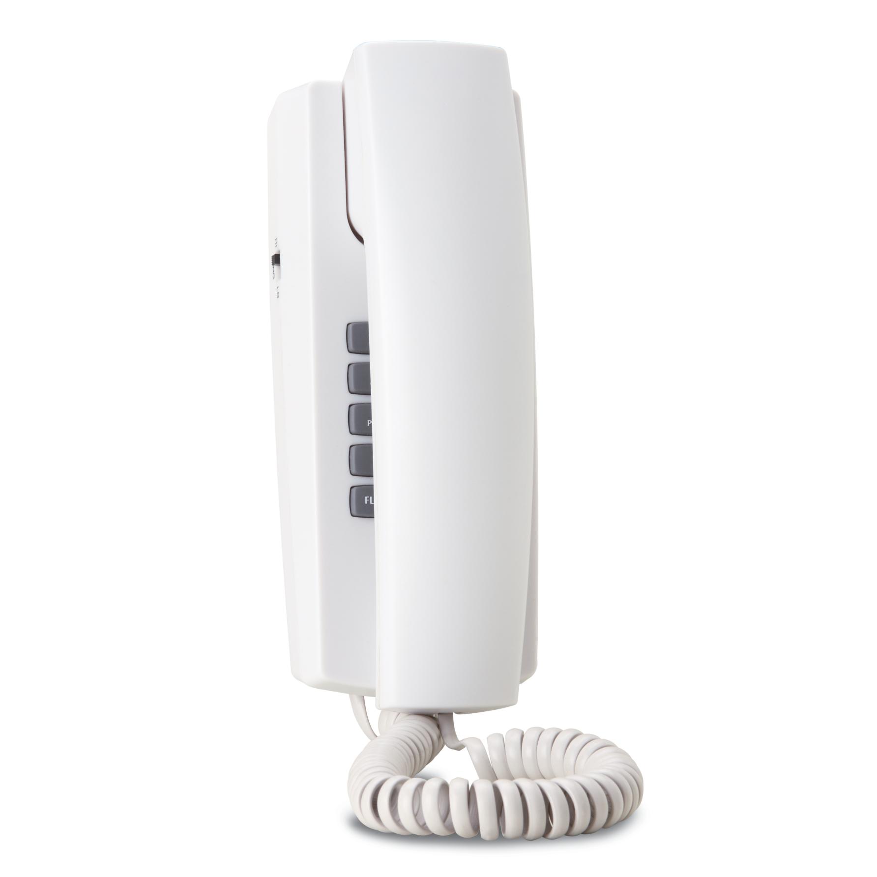 Telefone de Parede com Fio Branco - HDL