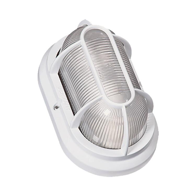 Luminaria Externa Aluminio Tartaruga Oval Branca 1500 - Germany