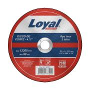 "Disco de Corte Aço 4.1/2""x3/64""x7/8"" (115x1,0x22,2mm) - Loyal"
