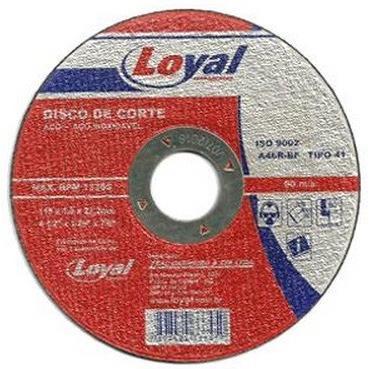 Disco de Corte 7x116x78 180x16x2200mm - Loyal