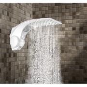 Chuveiro Lorenzetti 4 Temperaturas 6.800W 220V com Braço Branco - Duo Shower Quadra