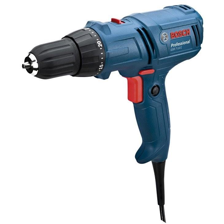 Furadeira e Parafusadeira Eletrica 38 400W 7-14 127V - 06014470D0 - Bosch