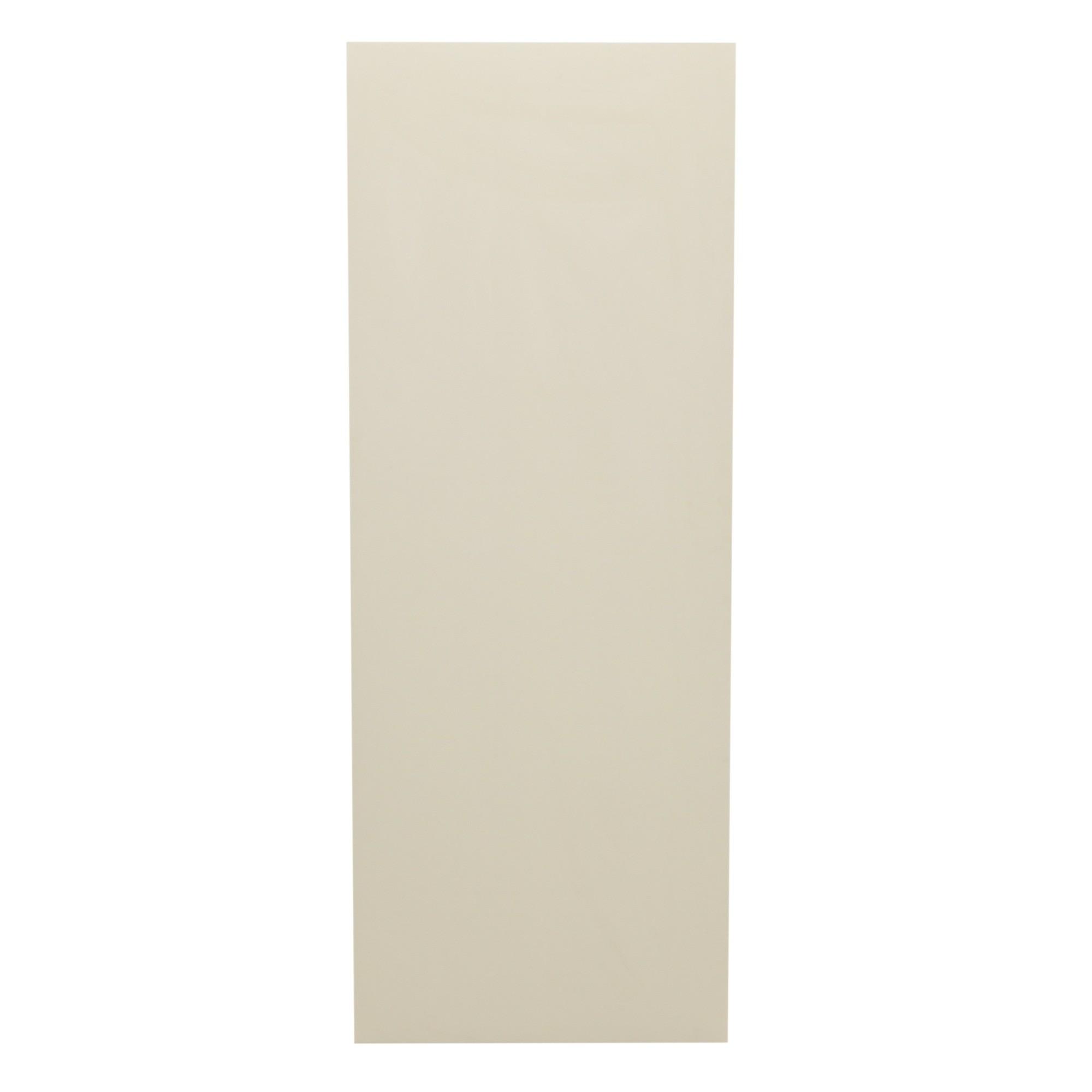 Porta de Madeira Lisa 90x210 cm Gelo para Apartamento - Madelar