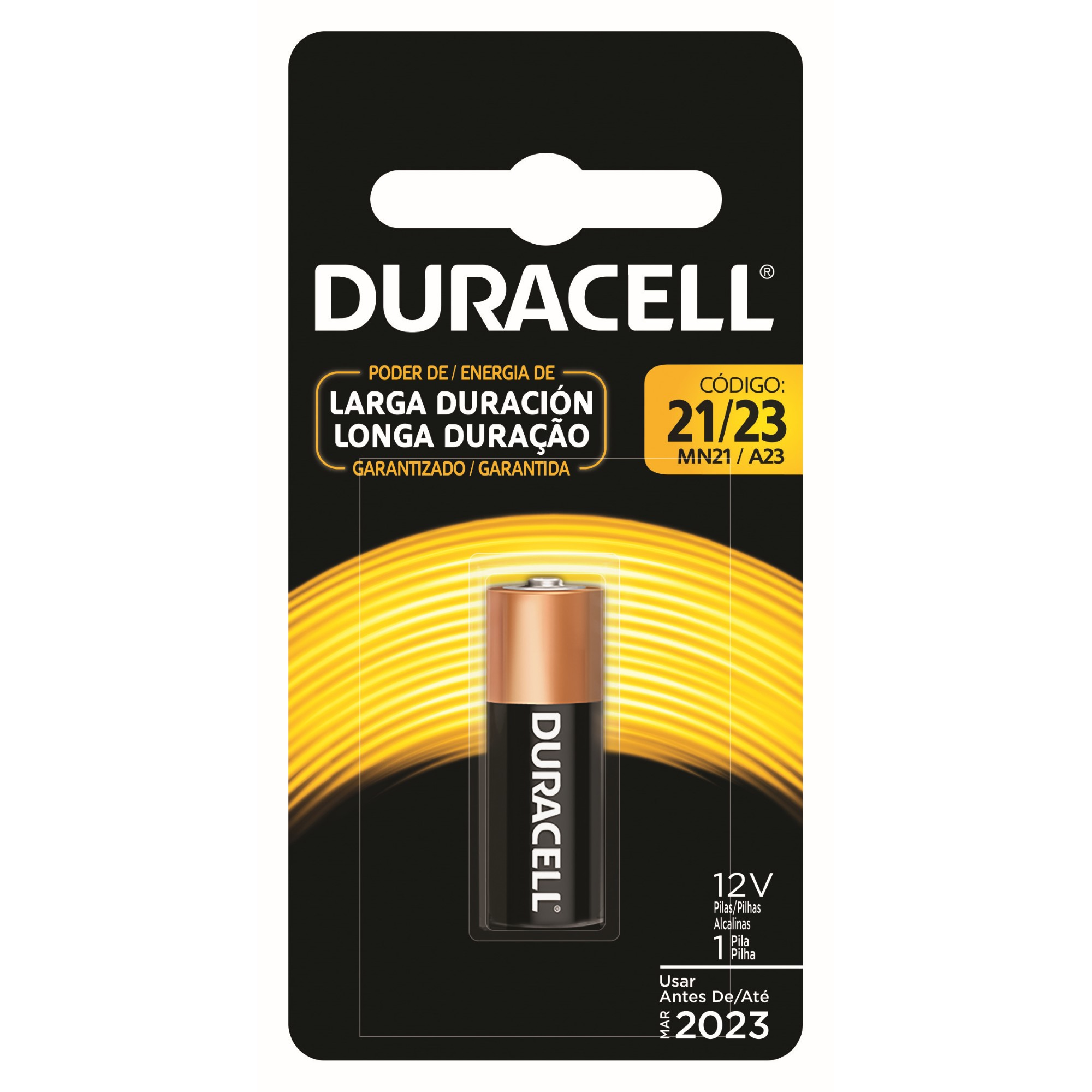 Pillha Alcalina Duracel 12V 1 Unidade 30080