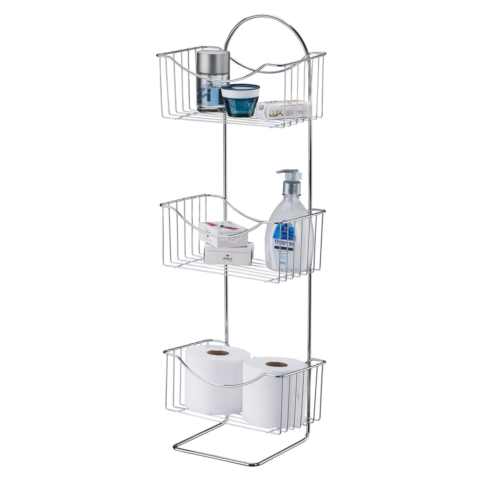 Organizador de Banheiro com 3 Prateleiras CR 451 - Utimil