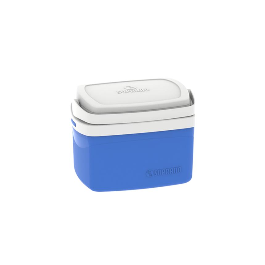 Caixa Termica 50L Polipropileno Azul - Soprano