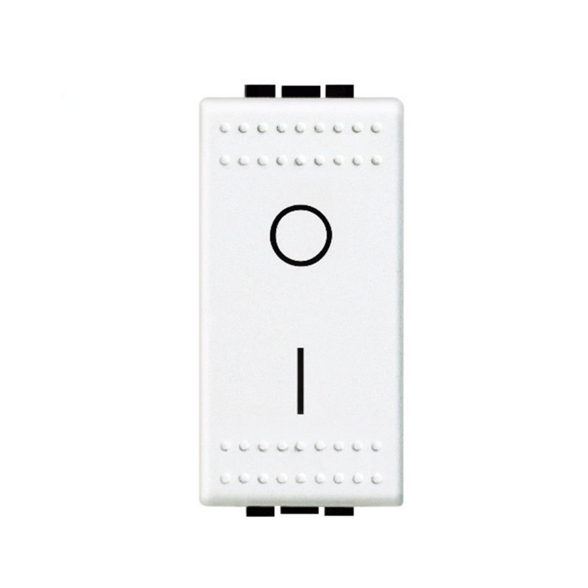 Modulo Interruptor Bipolar 1 Modulo 16A - Branco - Livinglight - Bticino
