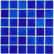 Revestimento Juqueí Brilhante Tipo A 5x5cm 1,41m² Azul - Atlas
