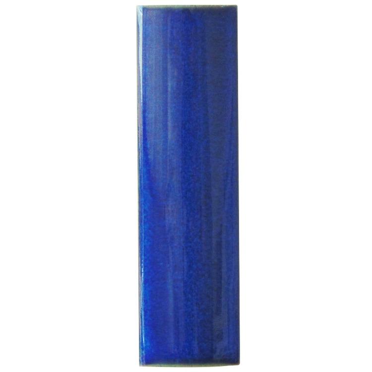 Canaleta Porcelanato 3x10 cm Externo Azul - Atlas