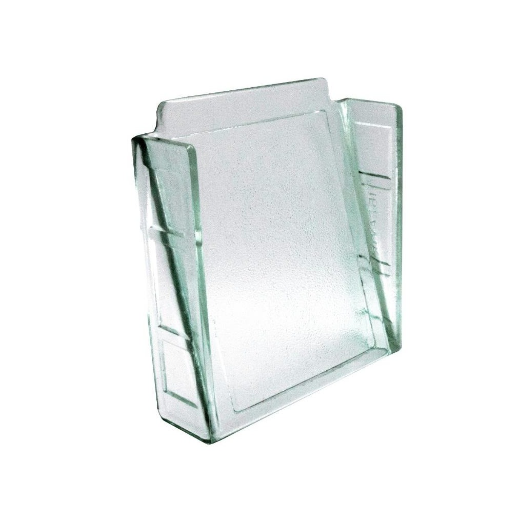 Veneziana de Vidro Cristal 20x20x6 cm - Ibravir