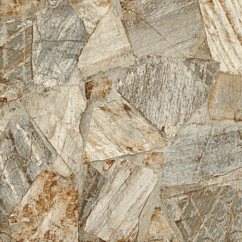 Ceramica Traffic Stone Tipo A 53 x 53cm 227m Cinza - Arielle