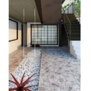 Cerâmica Traffic Stone Tipo A 53 x 53cm 2,27m² Cinza - Arielle