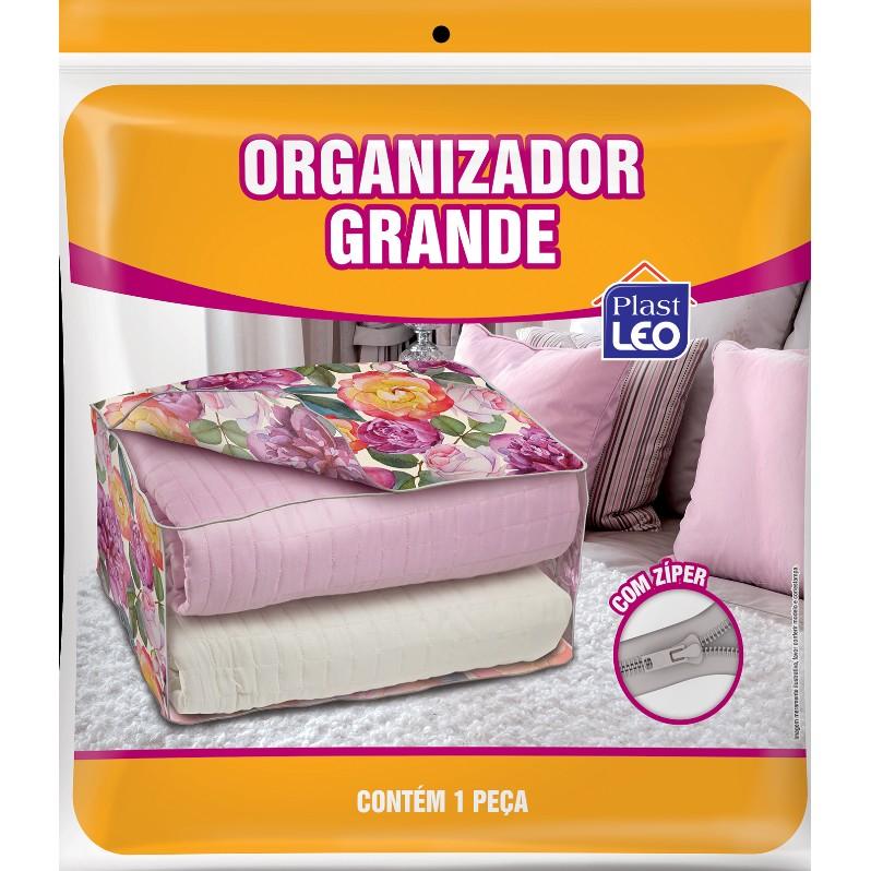 Organizador de Edredom TNT com PVC Grande - Plast Leo
