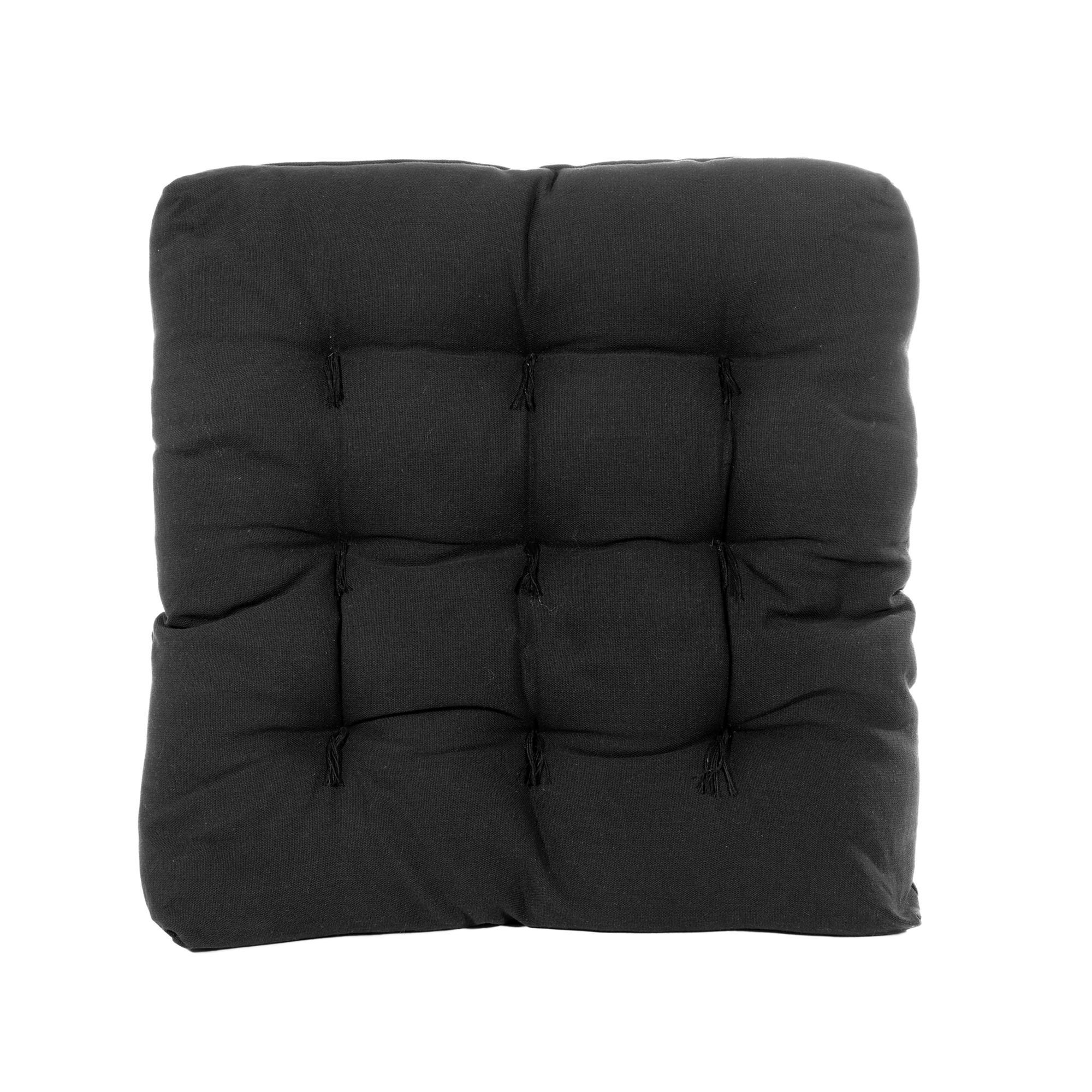 Almofada Futton Confort 40x40 cm Prata - Artesanal