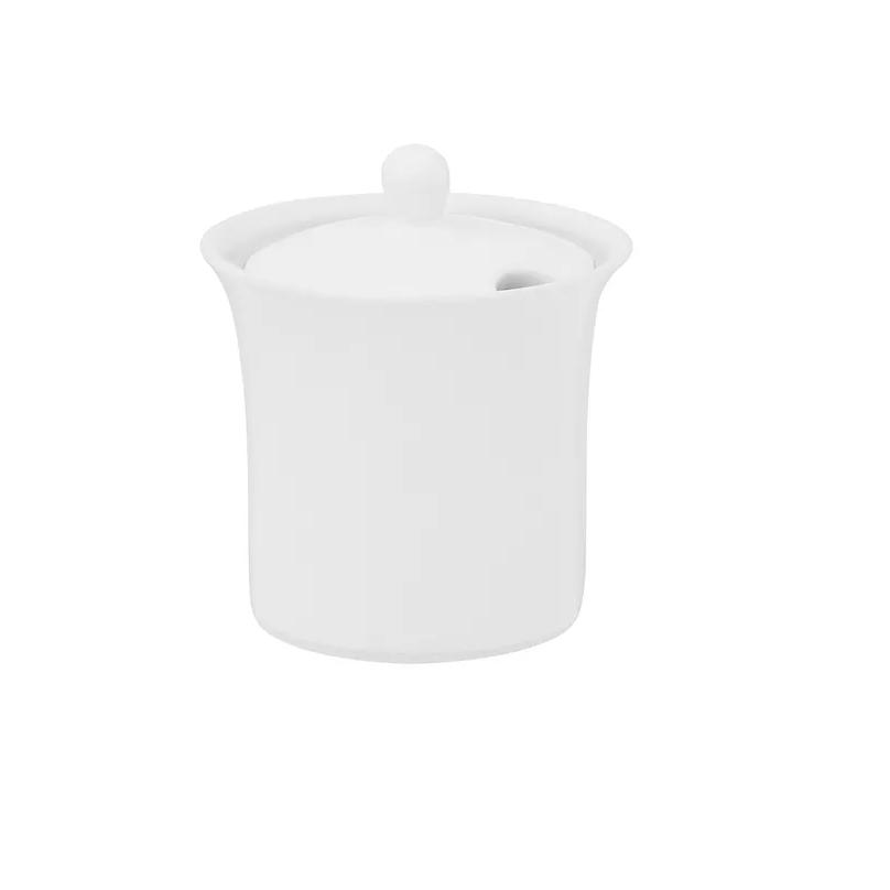 Acucareiro de Porcelana 200ml White 9001 - Oxford