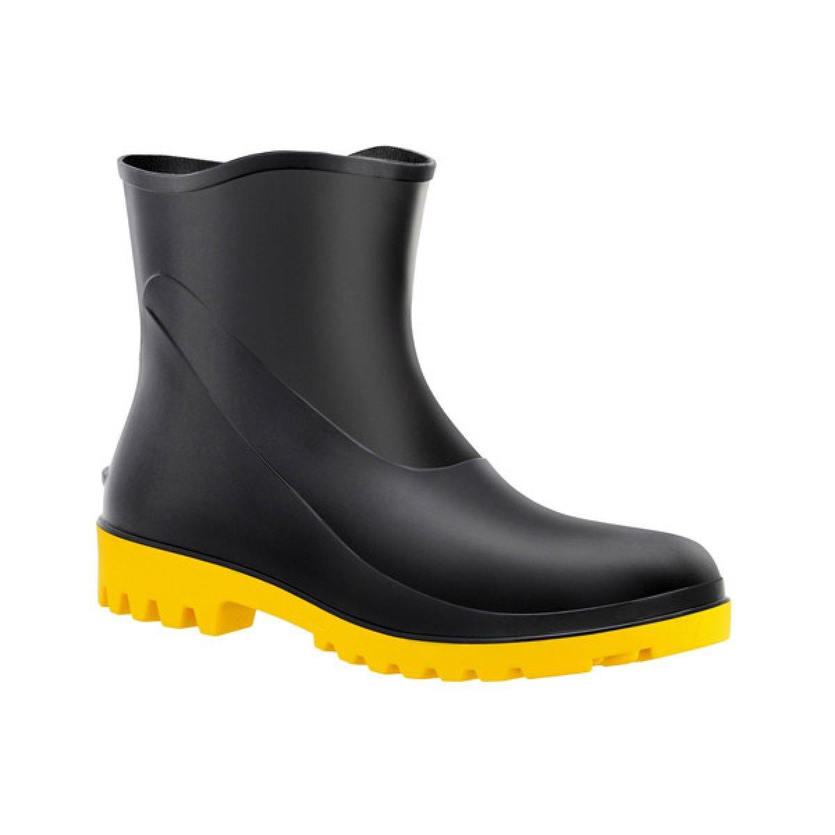 Bota de PVC Cano Extra curto Amarelo Numero 39 - Acqua Flex 82BPC - Bracol