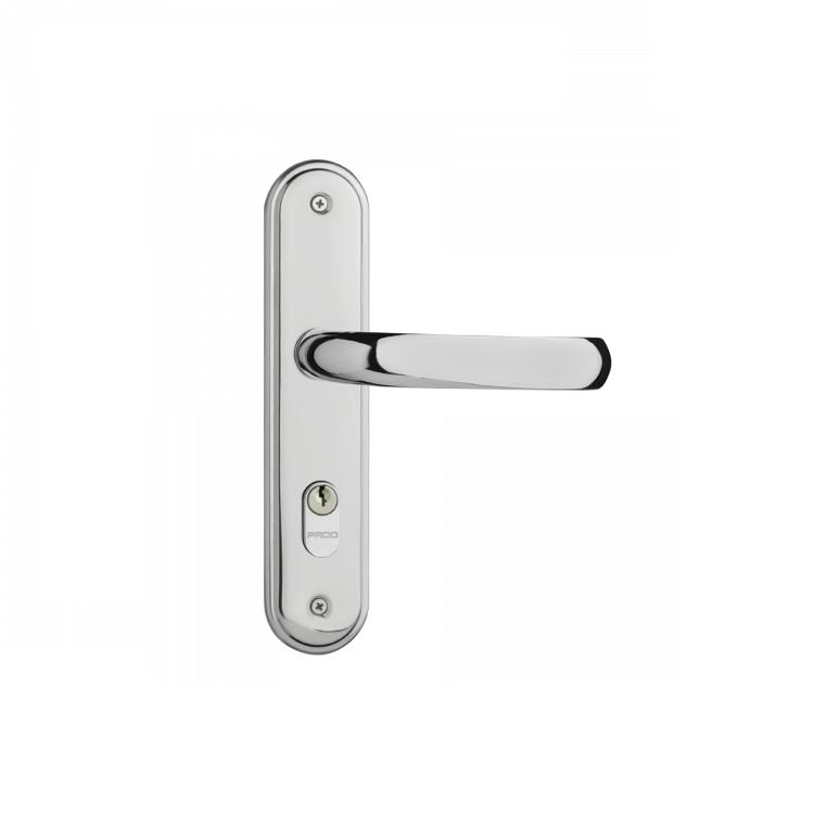 Fechadura Interna Espelho e Macaneta Zamac Cromado 406I Concept - Pado