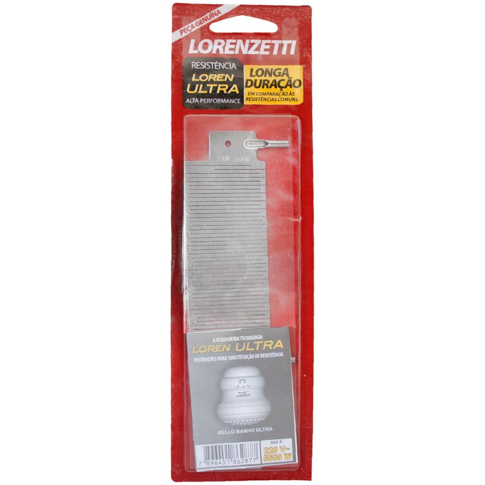 Resistencia Lorenultra 4600W 065B 220V - Lorenzetti