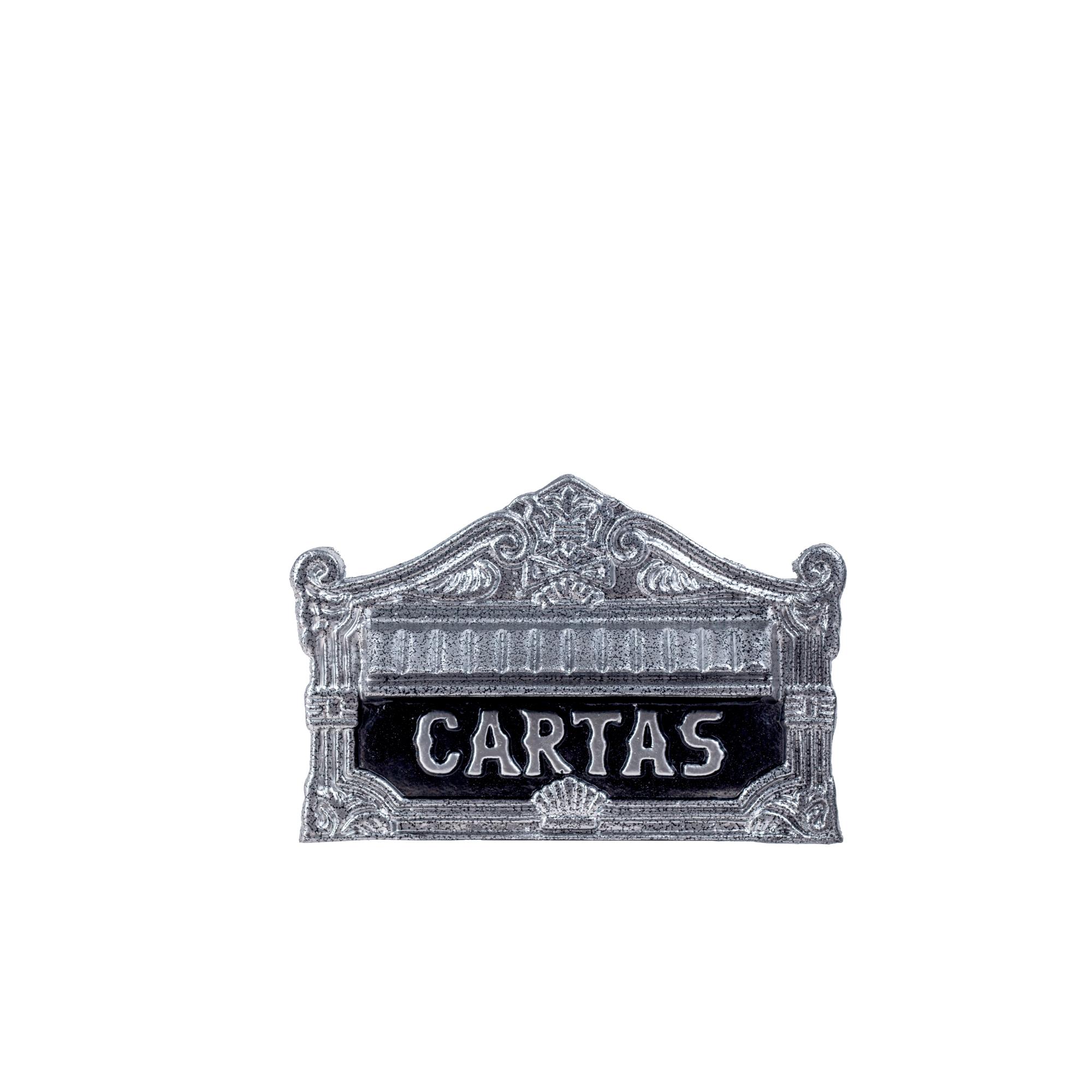 Porta Carta Escovado de Aluminio Reciclavel 22x155x11cm - LGMais