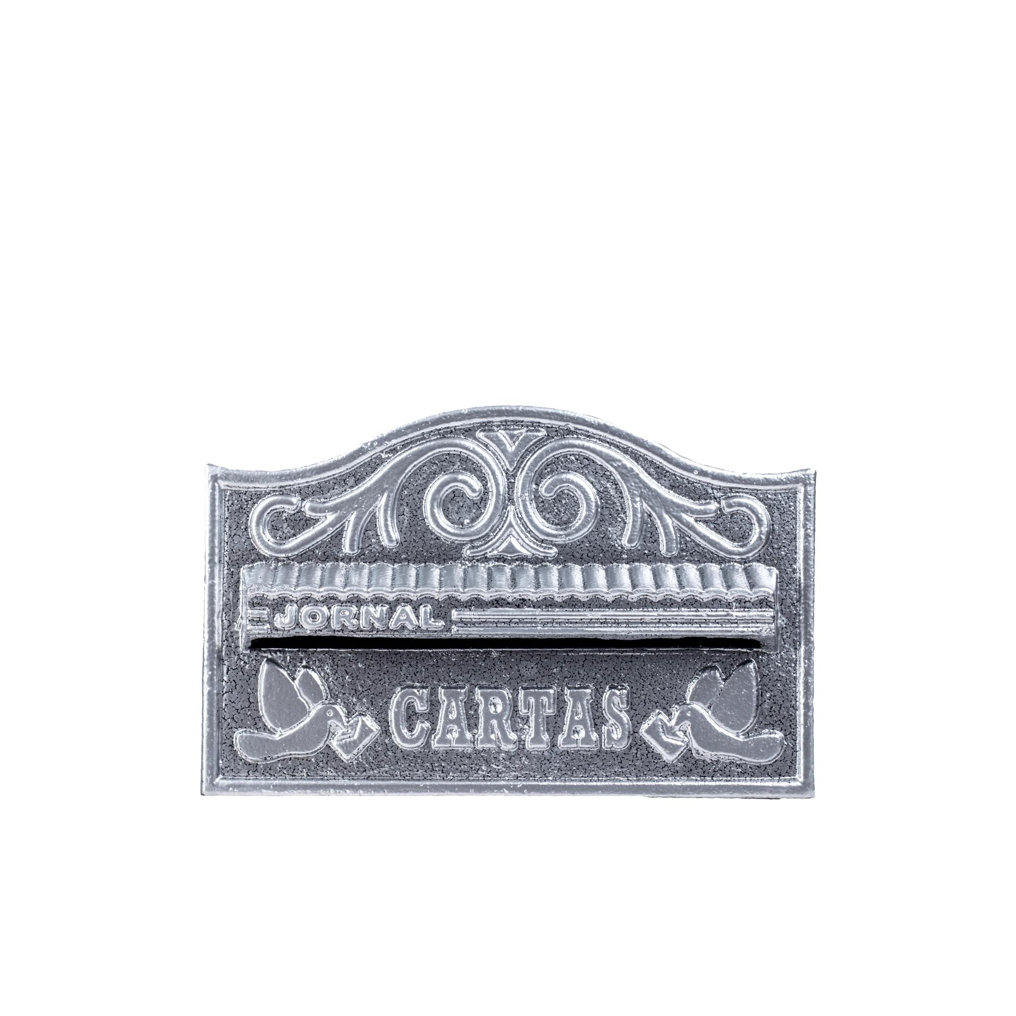 Porta Carta Escovado de Aluminio Reciclavel 31x195x15cm 16CR - LGMais