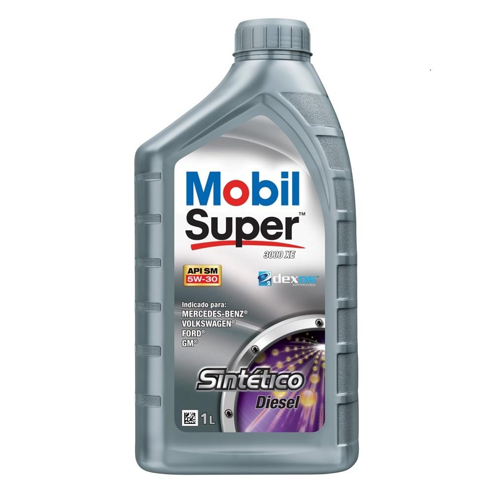 Oleo Lubrificante Super Diesel Sintetico 5W-30 1L - Mobil