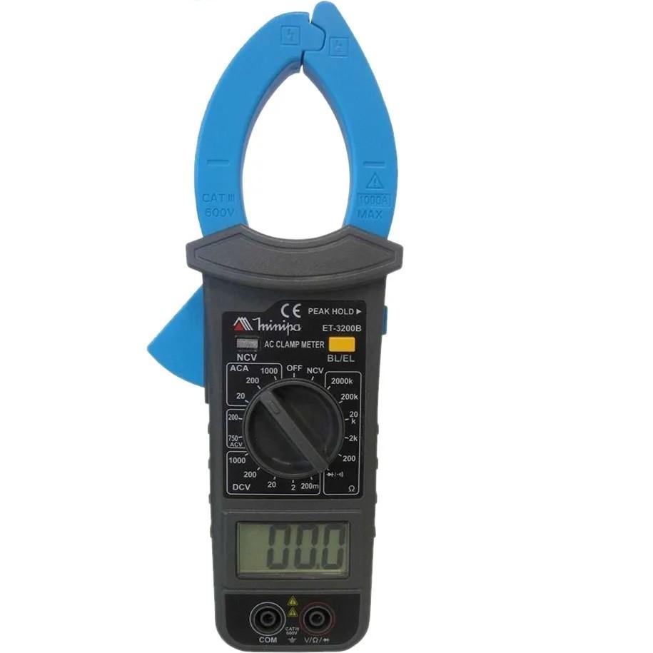 Amperimetro Alicate Digital 1000A Et-3200B