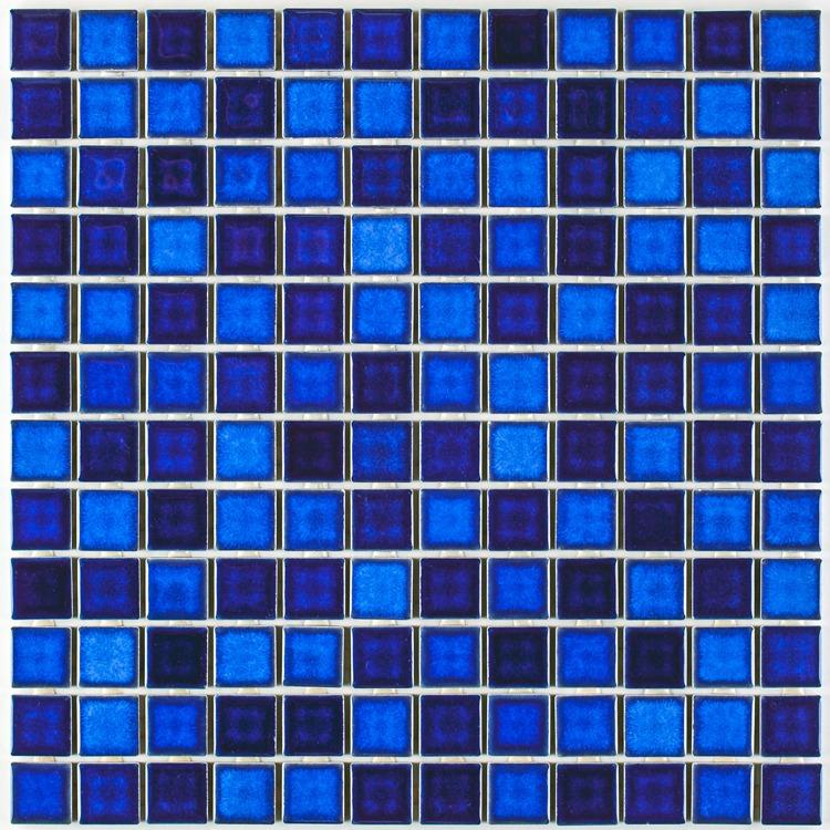 Revestimento Blend 46 Brilhante Tipo A 3205x3205cm Azul - Atlas