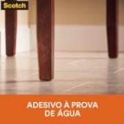 Protetor 3M Anti-Risco de Feltro Autoadesivo para Móveis Quadrado 2,5x2,5 cm