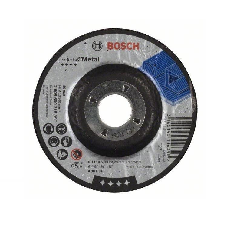 Discos de Desbaste 115x64x2223mm GR24 - Bosch