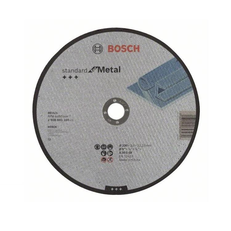 Disco de Corte Aco 230x3x2223mm GR30 2608603168 - Bosch
