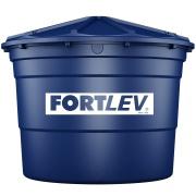 Caixa D'água de Polietileno com Tampa 5.000L Azul - Fortlev