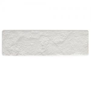 Revestimento de Parede Ecobrick 270x75 mm Branco - Santa Luzia