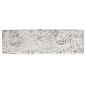 Revestimento de Parede Ecobrick 270x75 mm Branco Envelhecido - Santa Luzia