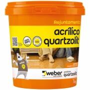 Rejunte Acrílico Cinza Ártico Balde/1kg - Quartzolit