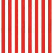 Papel de Parede 52cm Rolo com 10m Listrado Vermelho - Plavitec