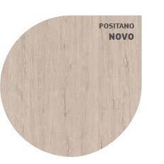 Perfil Piso Parede 210mx10cm MDF Positano - Duratex