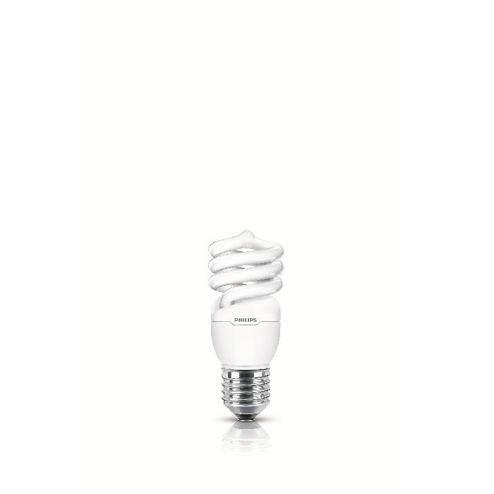 Lampada Fluorescente Compacta Espiral 15W Branca E27 220V - Philips
