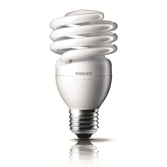 Lampada Fluorescente Compacta Espiral 23W Luz Amarela E27 220V - Philips