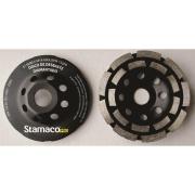 Rebolo de Desbaste Aço Forjado e Pastilhas Diamantadas 115 x 4,0 x 22,23mm - Stamaco