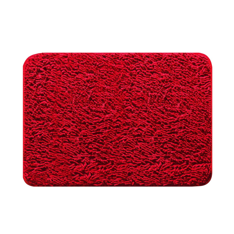 Tapete de Banheiro Antiderrapante 40x60 cm Comfort Cereja - Jolitex