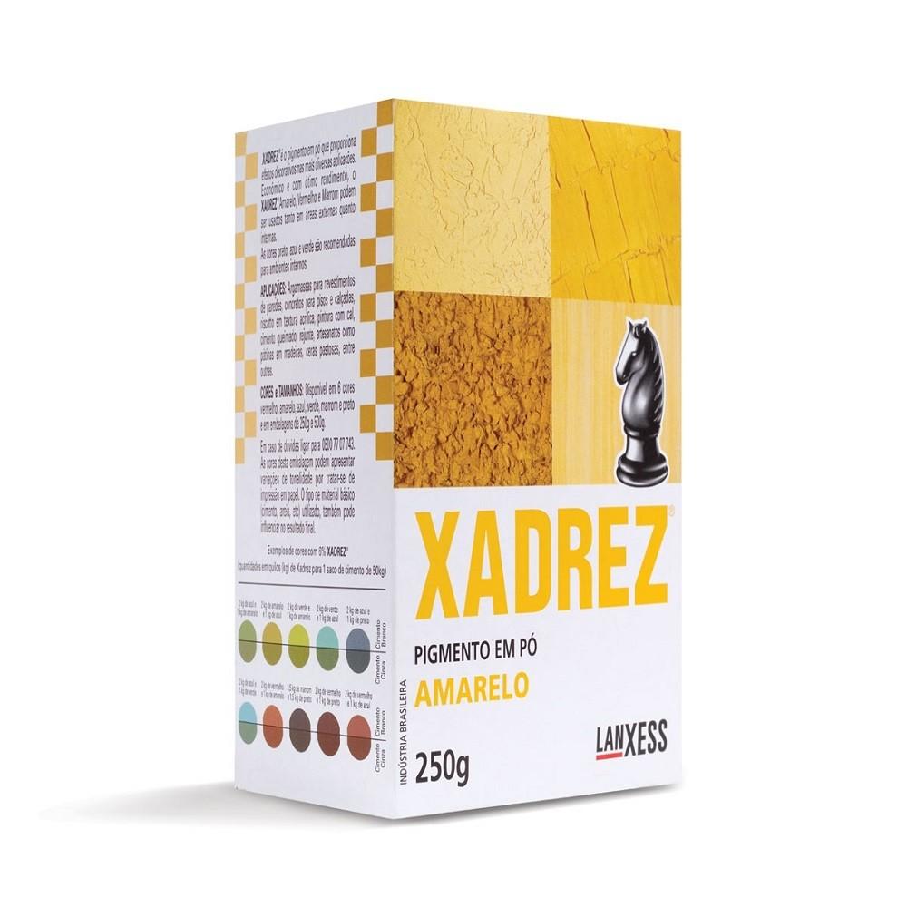 Pigmento Em Po Amarelo 250g - Xadrez