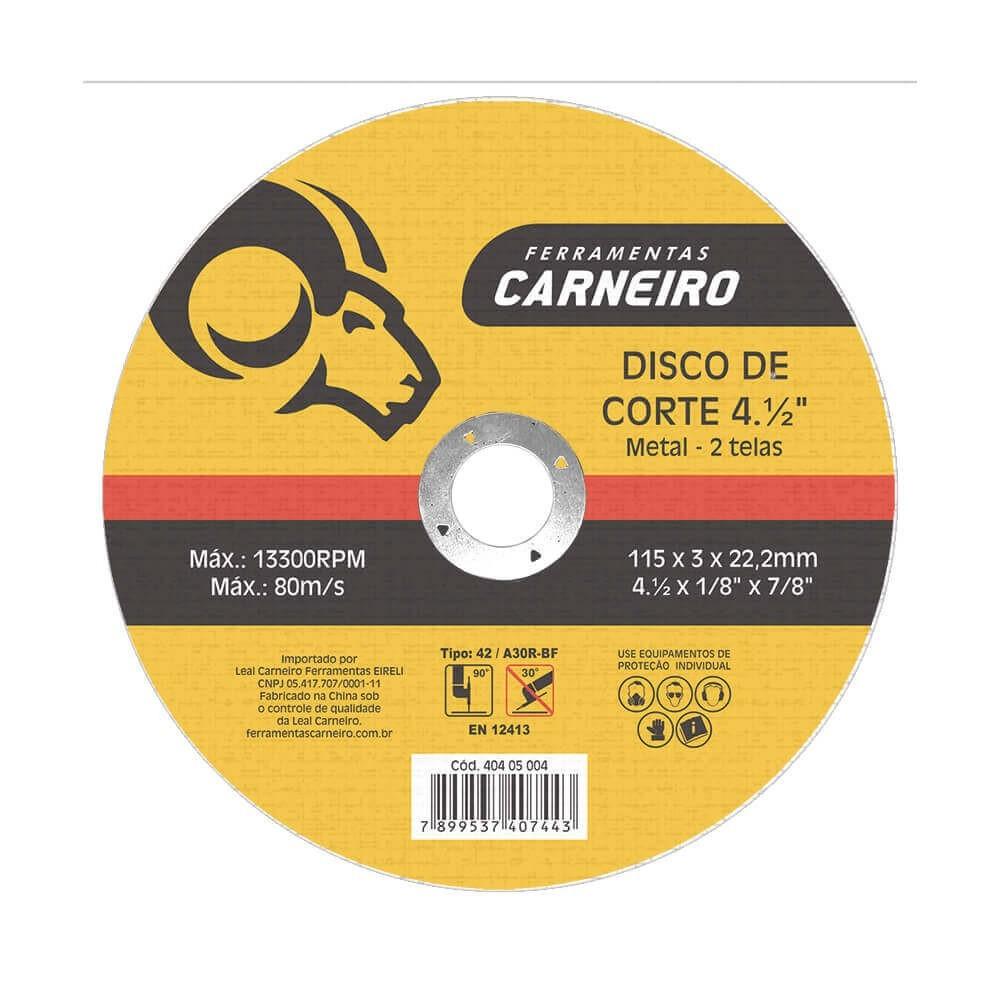 Disco para Lixadeira 115x60x2200mm - Loyal