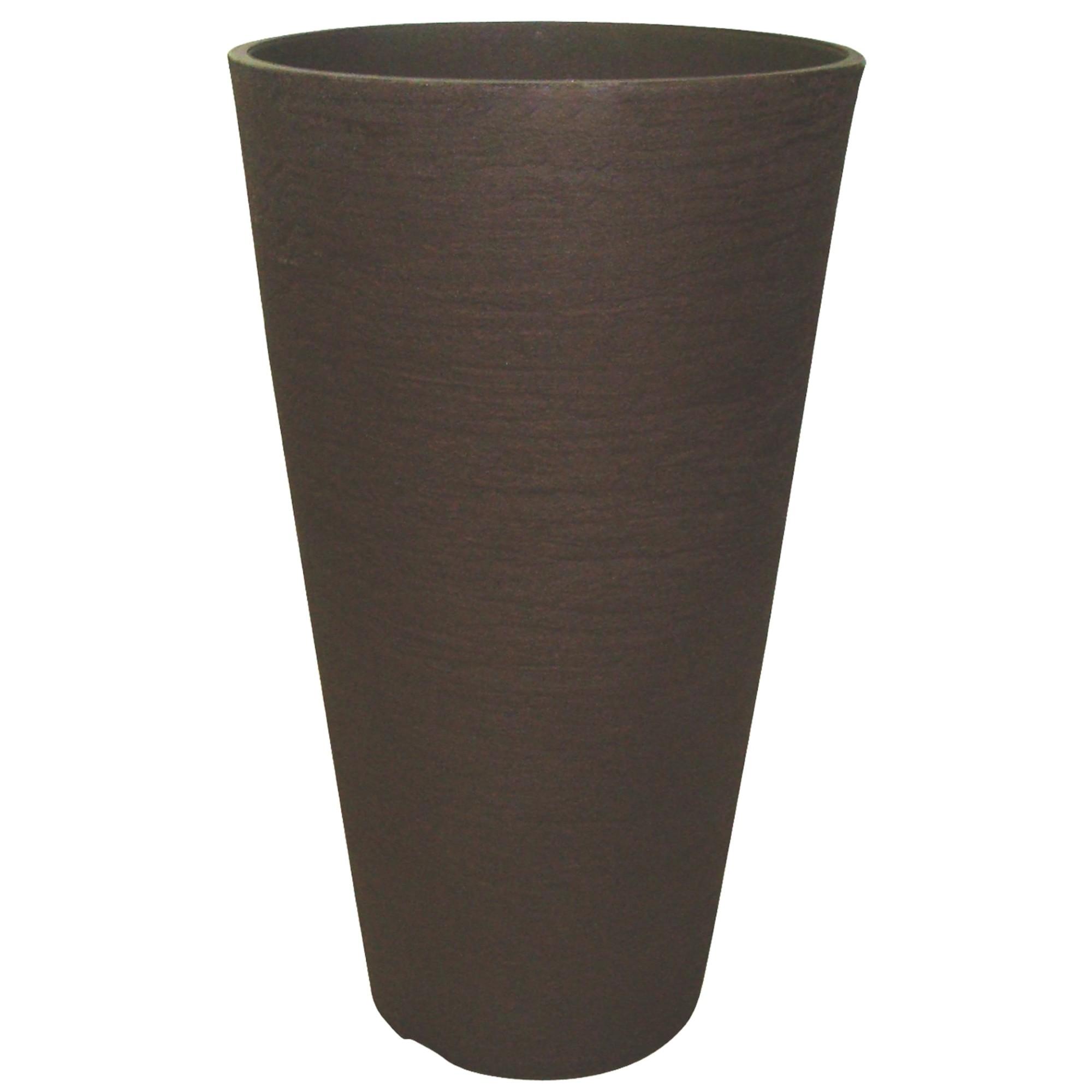 Vaso para Plantas Polietileno 45x30 cm Europa Cafe - Japi