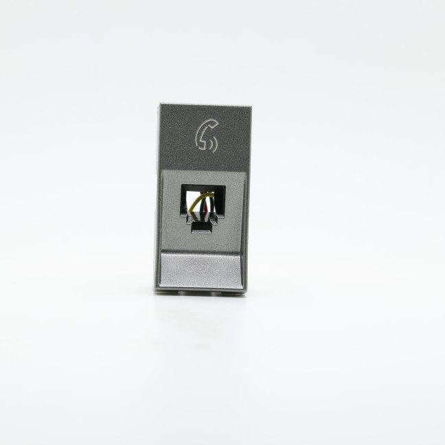 Tomada Telefone Modular 1M RJ11 Magnesio 582642B Arteor - Legrand