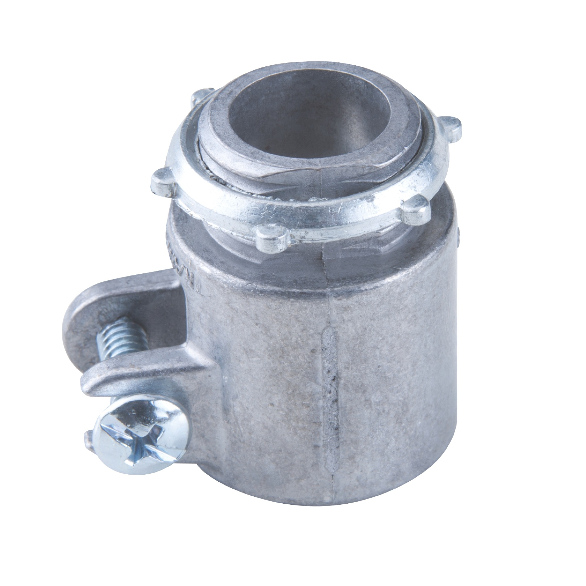 Conector Reto de Aluminio para Box com Rosca 114 - 56127026 - Tramontina