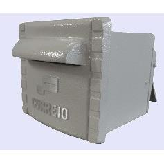 Porta-cartas Aluminio 16x19 cm Branca - RB